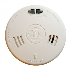 Detector de humo de Kidde 2SFWR-RF en el sector