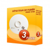 Pack of 3 Kidde 10Y29 smoke alarms