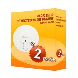 Pack de 2 Detectores de humo Kidde 29-FR