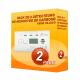 2er-Pack-detektoren, Kohlenmonoxid Kidde 10LLDCO