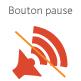 Détecteur de fumée Kidde 10Y29 - Bouton pause